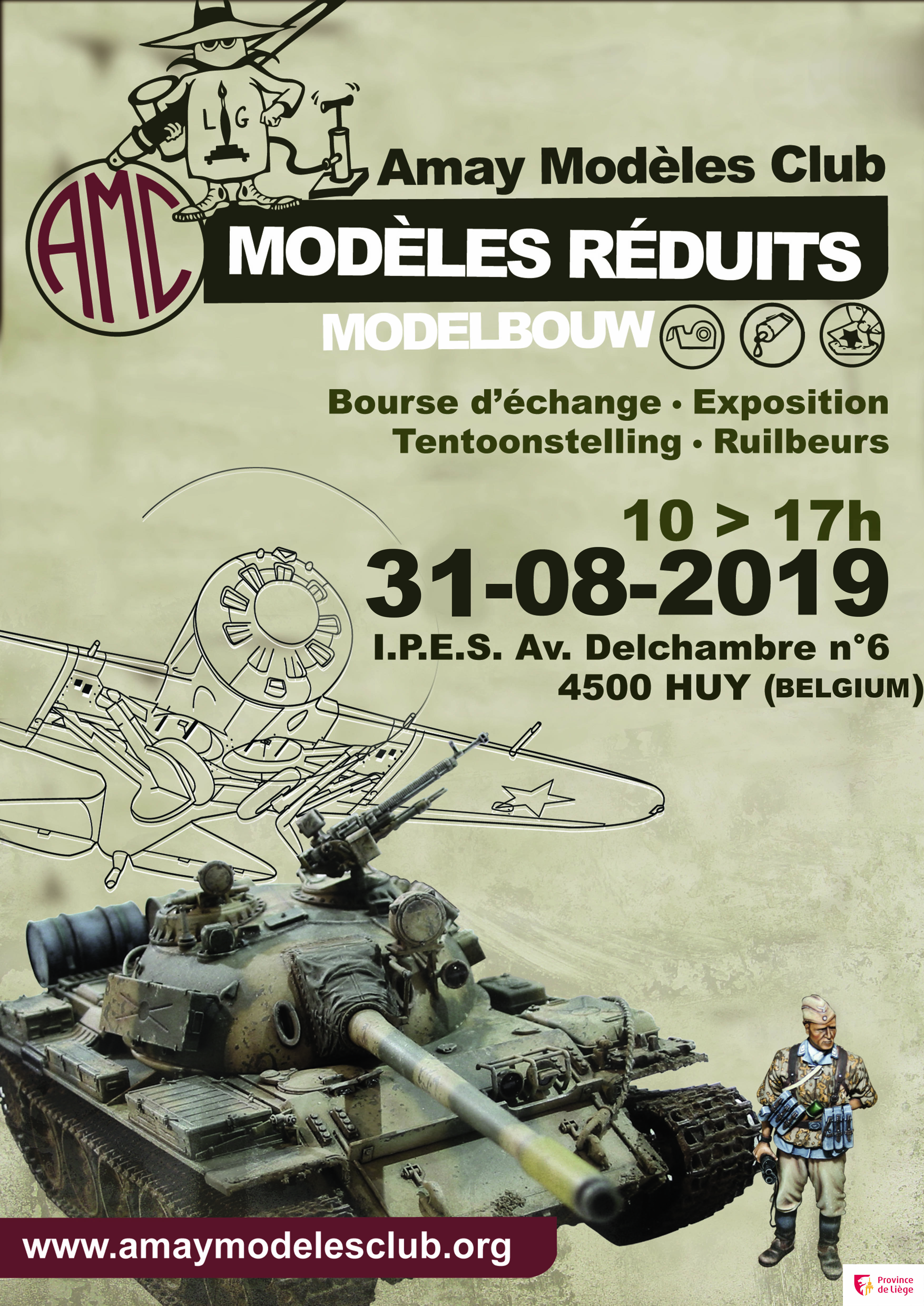 Calendrier Expo Maquette 2019.Amay Modeles Club Plastic Model Kits Builders Society